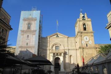 Valletta City - Main attractions on foot