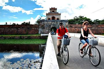 Hue Imprial City Cycling one day to Forbidden city and Mausoleums