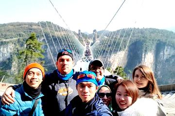 PrivateTour: Glass Bridge and Baofeng Lake from Zhangjiajie