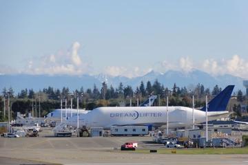 Morgontur till Boeing-fabriken från Seattle