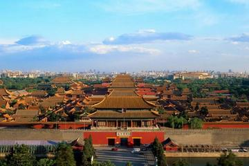 Half day bus tour to Tiananmen square Skip the line explore the forbidden city