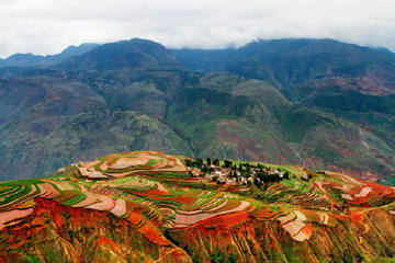private tour from Kunming to Dongchuan Two Days Colorful Tour