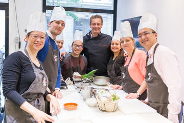 French Cuisine Cooking Class in Paris