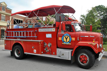Day Trip Private Narrated Sightseeing Tour of Portland Maine Aboard a Vintage Fire Engine near Portland, Maine