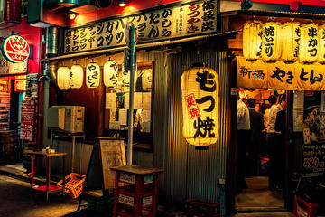 Evening Tokyo Walking Food Tour of Shimbashi