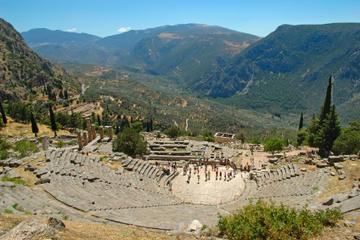 Dagstur fra Aten til Delfi