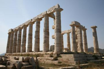 Excursão de meio dia pelo Cabo Sunion e pelo Templo de Posseidon...