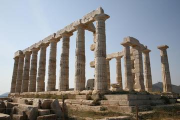 Excursión de medio día a Cabo Sounion y el Templo de Poseidón desde...