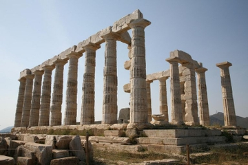 Gita di mezza giornata da Atene al Capo Sounion e al Tempio di