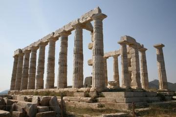 Kap Sounion og Poseidons tempel...