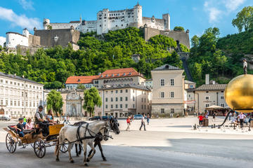 Experience a complete tour of the world heritage cities of Salzburg...