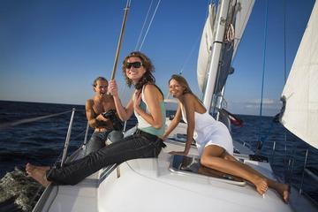 Sortie en voilier en mer Méditerranée...