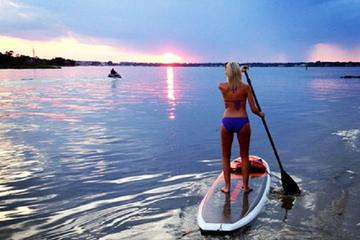 Sunset Stand Up Paddleboard Tour of...