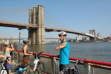 Excursão de bicicleta pela Brooklyn Bridge