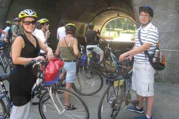 Fietstocht langs de Hudson River Park Greenway en door Central Park