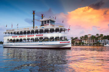 Jungle Queen Riverboat Dinner Cruise and Show
