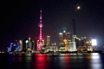 3-Hour Shanghai Night View: The Bund and Luxury Cruise on Huangpu River