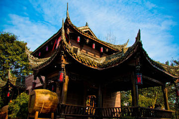 From Chengdu: Giant Pandas And Huanglongxi Ancient Town In One Day