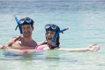 Recorrido de buceo de superficie y fiesta en la playa en Cozumel