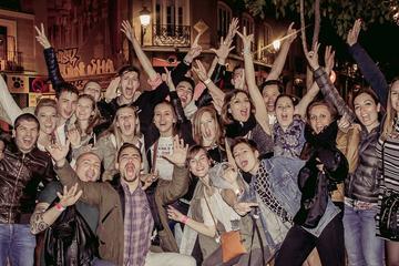 Excursão de pub crawl em Madrid
