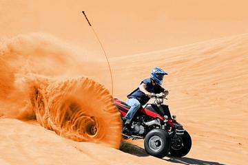 Dubai Half-Hour Quadbike Desert  Drive and Sand Boarding