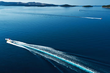 Beach Hunting Boat Full Day Tour from Zadar