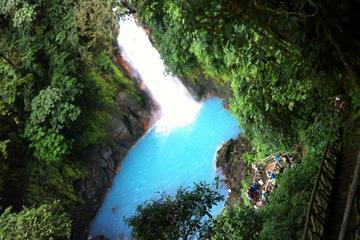 Celeste River Hike at Tenorio Volcano...