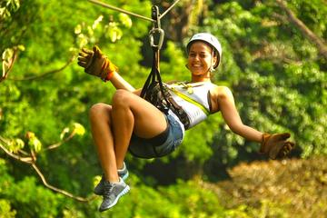 Small-Group Tour: Los Suenos Canopy Adventure from Jaco