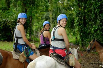 Tour combinado de San José: Paseo a caballo y paseo en barco por el...