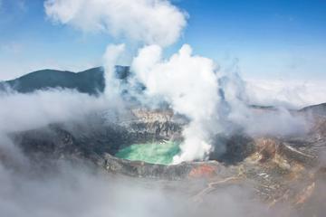 Volcán Poas, Estado cafetero de Doka y artesanía de Sarchí
