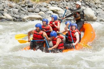 Wildwasserfahrt auf dem Fluss Chirripó ab San José