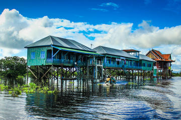 Private Half-Day Tonle Sap Floating Village Tour from Siem Reap