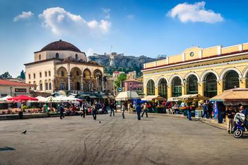 Balade d'une journée complète dans la ville: l'histoire d'Athènes...