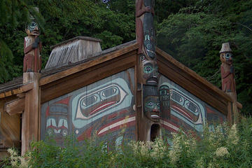 Totem Bight and Potlatch Park plus Ketchikan City Tour
