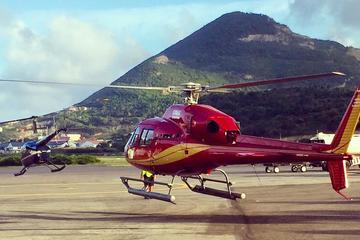 Helikoptertour van Saint Martin