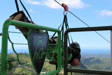 Extreme Zipline at ToroVerde...