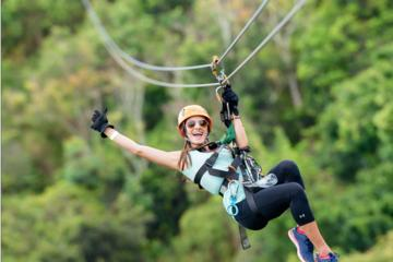 Zipline Adventure at ToroVerde...