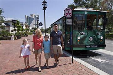 Onbeperkte rittenpas voor de I-RIDE Trolley