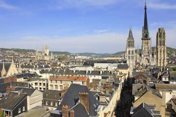 Visite privée: excursion d'une journée à Rouen et Giverny au départ...
