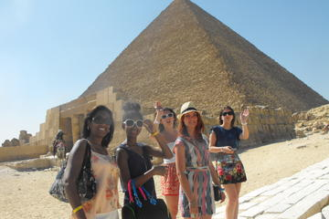 Giza Pyramids and Sphinx Private Half Day Trip
