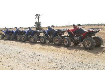 A half day Quad biking tour in Marrakech Palm groove and villages