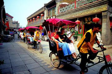 Hutong Rickshaw Tour with Xiushui Silk Market Bargining tour
