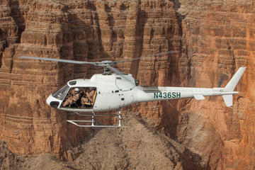 Doors Off Helicopter Flight Over the Grand Canyon West Rim and Scenic ...