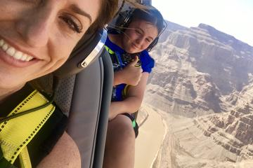 Doors Off Helicopter Flight Over the Grand Canyon West Rim and Scenic...