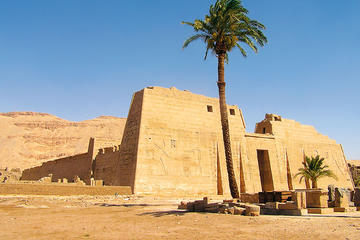 private-full guided day tour to temple of Habu and valley of the workers  from Cairo or Giza hotels