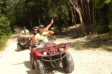 3-in-1 Adventure Combo Tour: ATV Ride, Cenote Swim