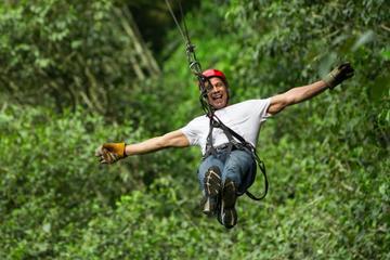 Cancún Combo Tour: ATV- und Zipline-Abenteuer mit Schwimmausflug in...