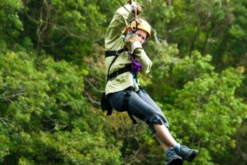 Cancún Combo Tour: Zipline- und Off-Road Buggy-Abenteuer