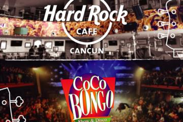 Cancun Dinner and  Party Combo Hard Rock and  Coco Bongo Preferred Access