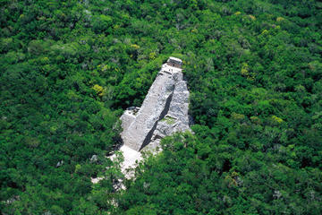 Coba Ruins Sunset Tour with Cultural or Extreme Experience Plus Dinner and Show